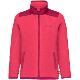 VAUDE Racoon Fleece Jacket Kids bright pink